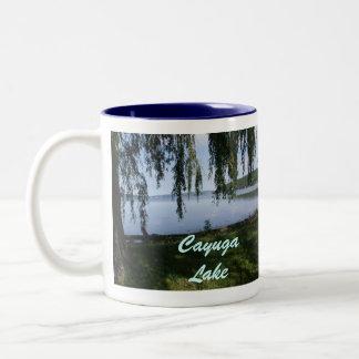 CAYUGA LAKE, STUART PARK mug