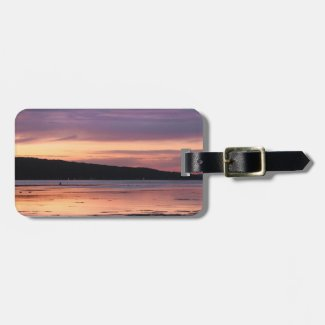 Cayuga Lake Sunset Luggage Tags