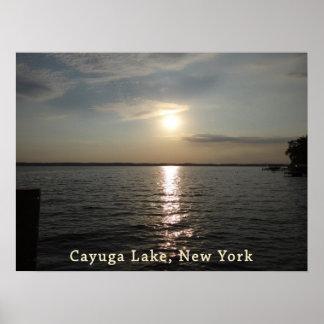 Cayuga Lake Sunset Posters