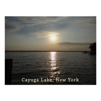 Cayuga Lake Sunset Print