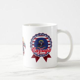 Cayuga, ND Classic White Coffee Mug