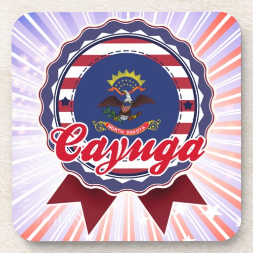 Cayuga, ND Coasters