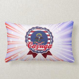 Cayuga, ND Throw Pillows