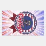 Cayuga, ND Rectangle Stickers