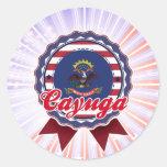 Cayuga, ND Stickers