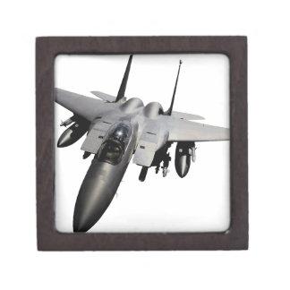 Caza a reacción de F-15 Eagle Caja De Regalo De Calidad