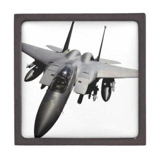 Caza a reacción de F-15 Eagle Cajas De Joyas De Calidad
