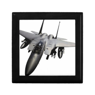Caza a reacción de F-15 Eagle Caja De Regalo