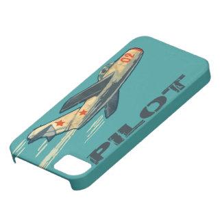 Caza a reacción del ruso del Mig 15 iPhone 5 Case-Mate Coberturas