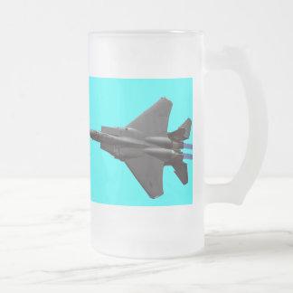 Caza a reacción F-15 Taza De Cristal