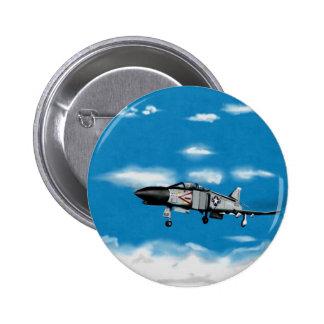 Caza a reacción fantasma de la marina de guerra F4 Pin