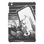 Caza de ballenas iPad mini protectores