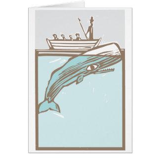 Caza de ballenas felicitaciones