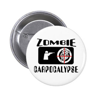 Caza de Carpocalypse del zombi Pin