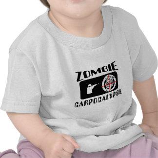 Caza de Carpocalypse del zombi Camisetas