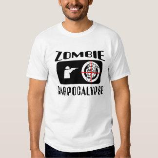 Caza de Carpocalypse del zombi Poleras
