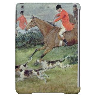 Caza de Fox en Surrey siglo XIX