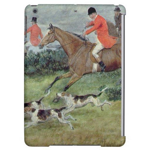 Caza de Fox en Surrey, siglo XIX