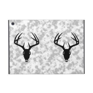 Caza de los ciervos - silueta del cráneo de los ci iPad mini cárcasas