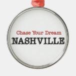 Caza de Nashville su sueño Ornamento Para Reyes Magos