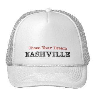 Caza de Nashville su sueño Gorros Bordados