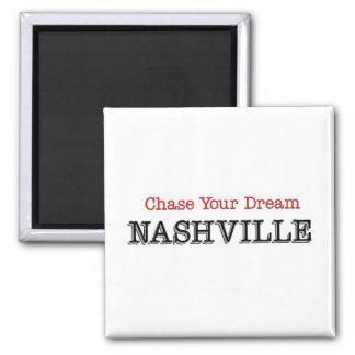 Caza de Nashville su sueño Imán Cuadrado