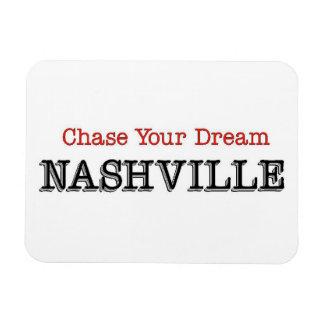 Caza de Nashville su sueño Imán De Vinilo