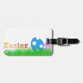Caza de Pascua Etiquetas Maleta