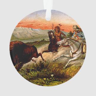Caza del búfalo de la CAMISETA