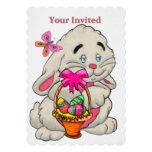 Caza del huevo de Pascua del PERSONALIZADO del Invitación 12,7 X 17,8 Cm