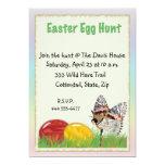 Caza del huevo de Pascua Invitación 12,7 X 17,8 Cm