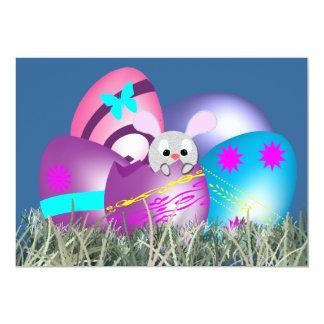 """Caza del huevo de Pascua Invitación 5"""" X 7"""""""