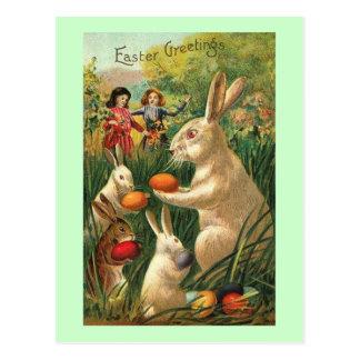 Caza del huevo de Pascua Postales