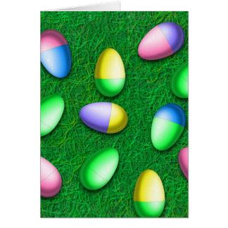 Caza del huevo de Pascua Tarjeta De Felicitación