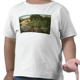 """Caza del macho del elector Friedrich III el """"sabio Camiseta"""