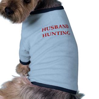 caza del marido camisetas de mascota