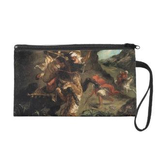 Caza del tigre de Eugene Delacroix-