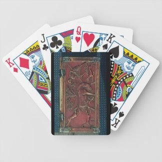 Caza del verraco placa de un ataúd bizantino 11m cartas de juego