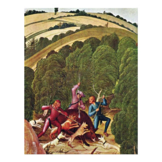 Caza del verraco por Frueauf D.J. Rueland (la mejo Flyer A Todo Color