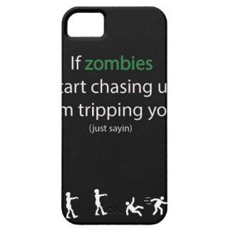 Caza del zombi iPhone 5 cárcasa