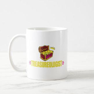 Caza divertida del tesoro taza