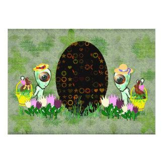 Caza extranjera del huevo de Pascua