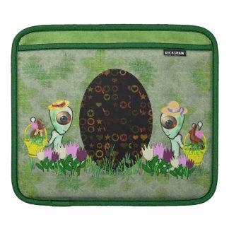 Caza extranjera del huevo de Pascua Funda Para iPads