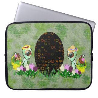 Caza extranjera del huevo de Pascua Funda Portátil