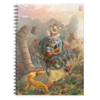 caza cuaderno