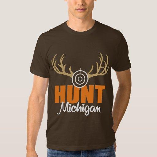 Caza Michigan Camisas