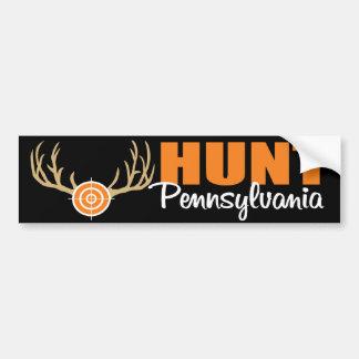 Caza Pennsylvania Pegatina Para Auto