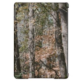 Caza/pesca de la naturaleza del camuflaje de Camo Funda Para iPad Air