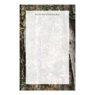 Caza/pesca de la naturaleza del camuflaje de Camo  Papeleria De Diseño