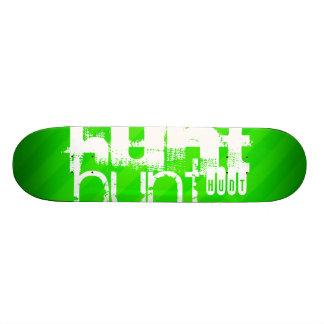 Caza; Rayas verdes de neón Monopatines Personalizados